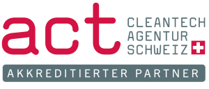act Cleantech Agentur Schweiz - act Energiespezialist akkreditierter Berater